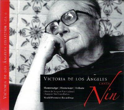 Canciones populares armonizadas por Nin castellanos y Nin Culmell por Victoria de los Ángeles y jóvenes cantantes