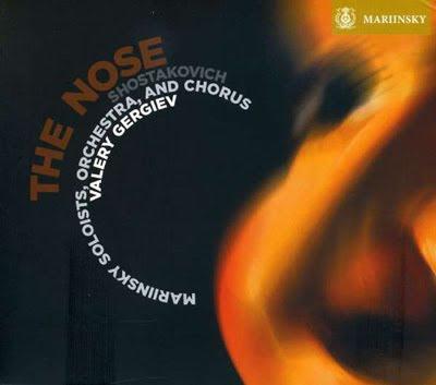 La nariz de Shostakovich por Gergiev en el sello Mariinsky