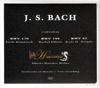 Cantatas de Bach por el conjunto Hippocampus