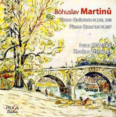 Música de cámara de Martinu en el sello Praga