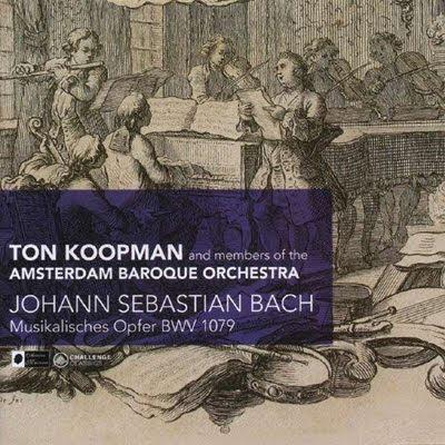 La Ofrenda muiscla de Bach por Ton Koopman