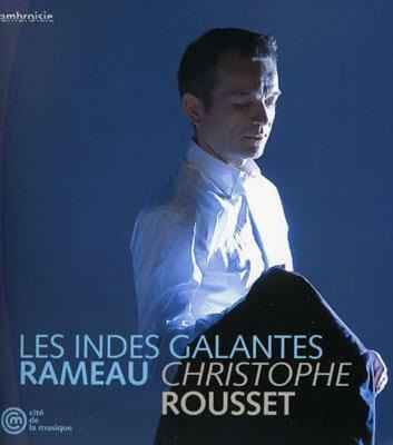 Las Indias Galantes de Rameau en versión clavecinística de Christophe Rousset