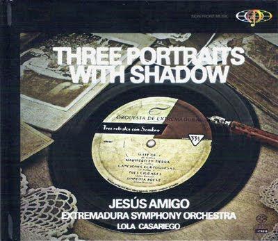 Three portraits with shadow por Lola Casariego y la Orquesta de Extremadura con Jesús Amigo