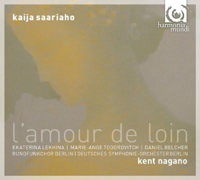 L'amour de loin de Kaija Saariaho en Harmonia Mundi