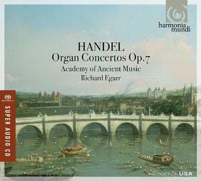 los Conciertos de la Op.7 de Haendel por Richard Egarr y la AAM