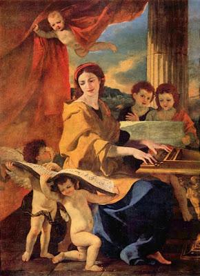 Santa Cecilia de Nicolas Poussin