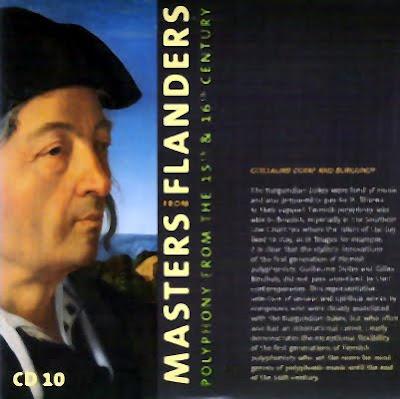 Dufay y la Borgoña en el último CD de Masters from Flanders