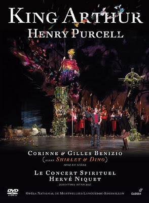 King Arthur de Purcell por Hervé Niquet para Glossa