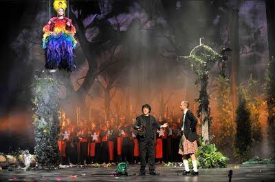 King Arthur de Purcell en la ópera de Montpellier (© Marc Ginot)