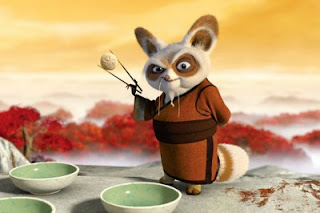 Kung Fu Panda Jackie Chan is a Monkey.