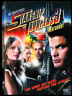 DVD Cover of Starship Troopers 3 Marauder