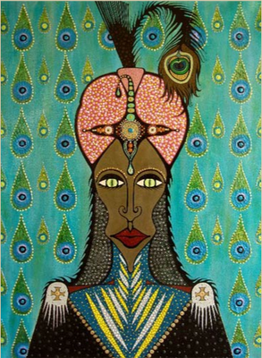 Pintura de Savia Mahajan