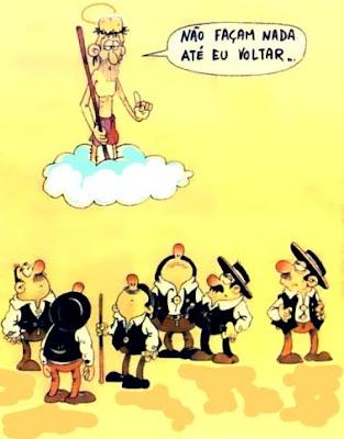 cartoons de alentejanos
