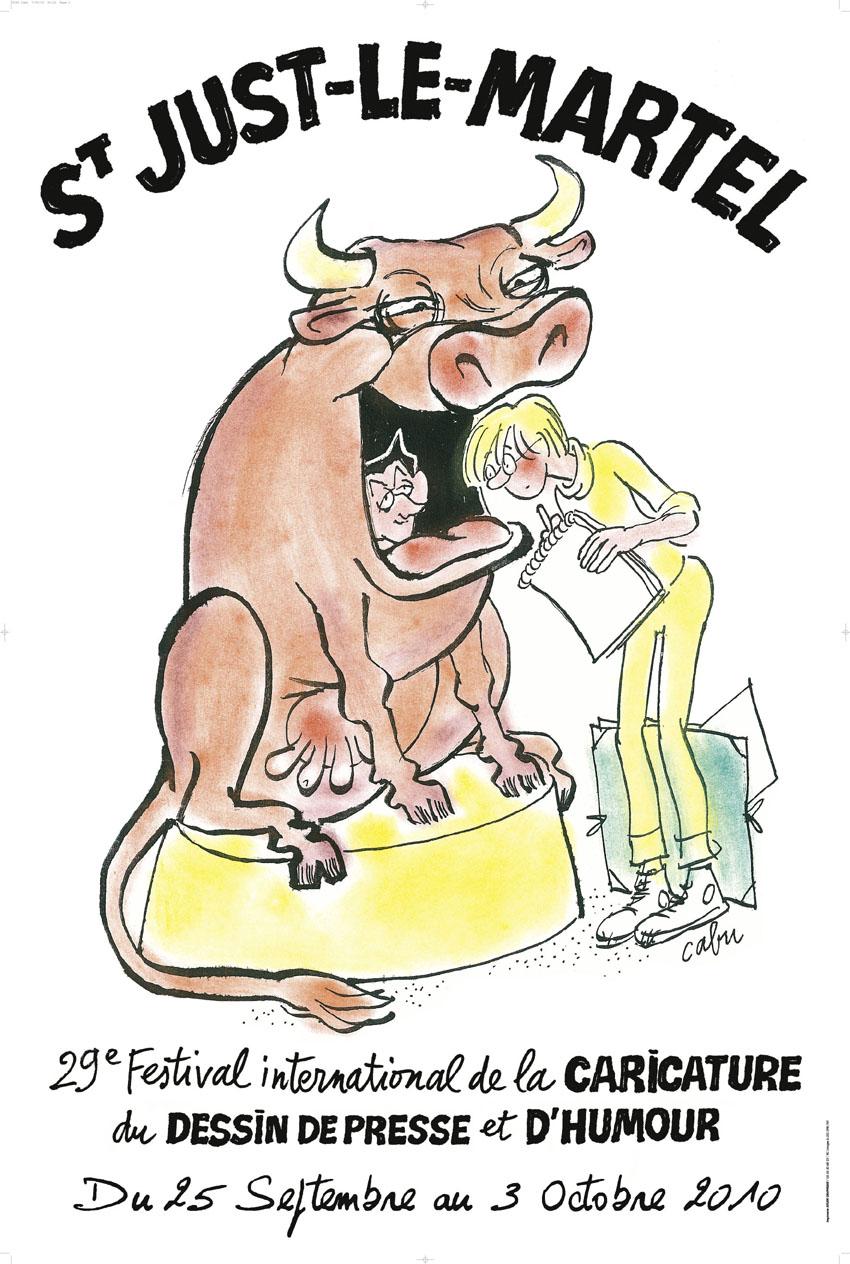 Sympa comme sapin septembre 2010 - Dessin vache humour ...