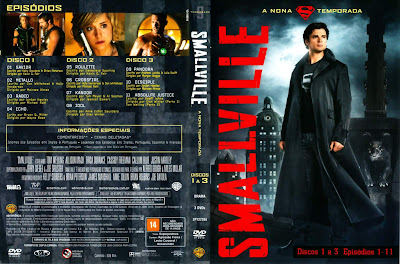 SMALLVILLE 1ª à 10ª Temporada Torrent – DVDRip Dublado