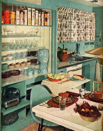 C Dianne Zweig Kitsch 39 N Stuff Looking At 1950 39 S Kitchens From The Pages Of Vintage House