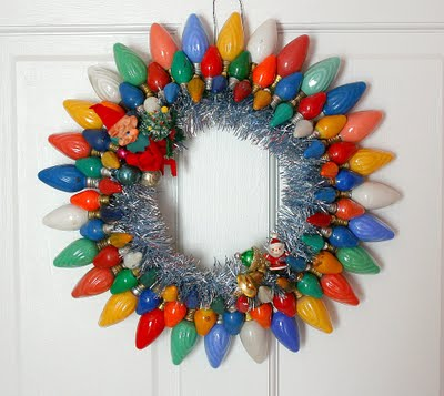 C Dianne Zweig Kitsch n Stuff Kitschy Thrifty Retro #0: Christmas wreath 2