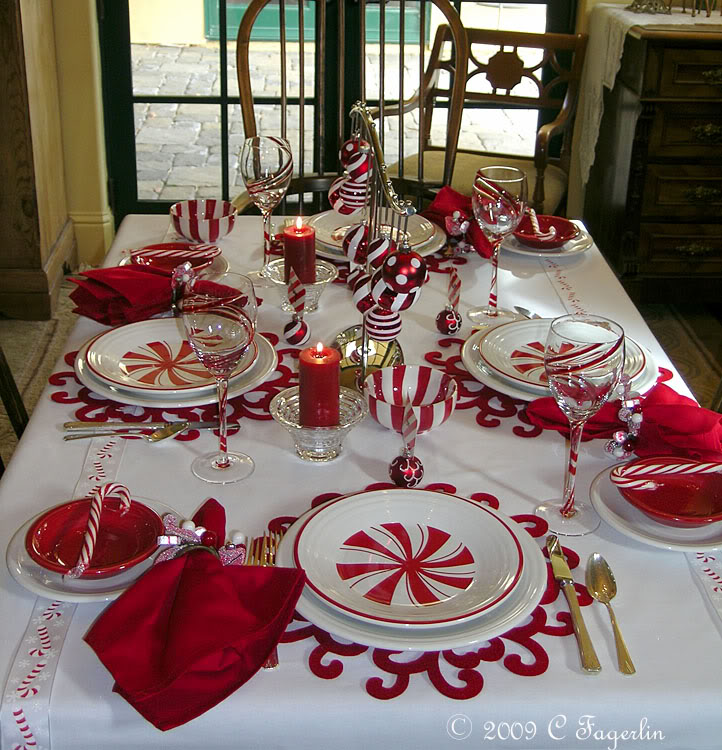 C dianne zweig kitsch 39 n stuff home style holiday for Christmas centerpiece ideas for round table