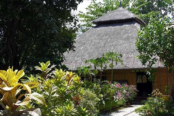 Bangunan Open Air Restaurant