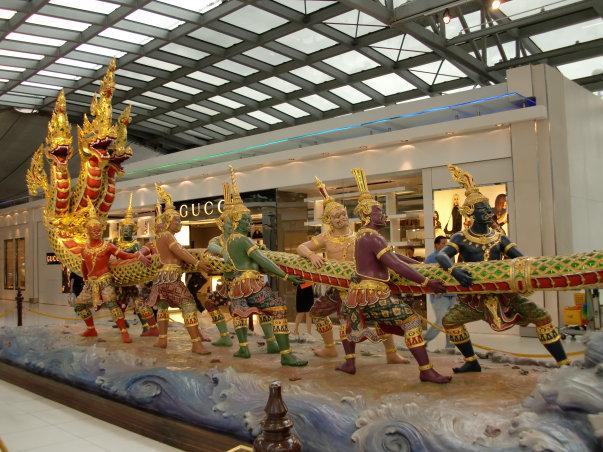 Patung tradisional Thai