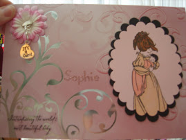 baby Sophie's card