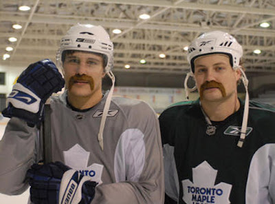 movember leafs moustaches