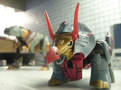 Transformers Animated Dinobots Grimlock Snarl