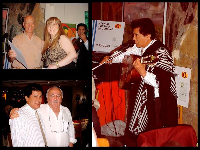 Despedida de Año del Ateneo Poetico Argentino 2009- Bahuen Hotel