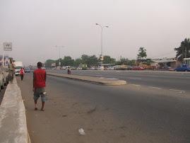 Uma rua de Acra