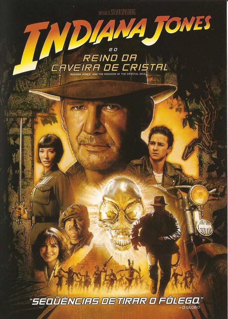 Indiana Jones Eo Reino Da Caveira De Cristal Dublado