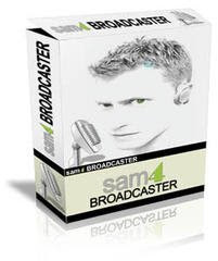 Capa Download   Sam Broadcaster 4 + Serial Download Gratis