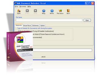 Capa Rar Password Unlocker v3.0 Download Gratis
