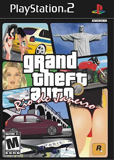 Grand Theft Auto - GTA: Rio de Janeiro Imagine passear pela praia de Copacabana, subir o Pão de Açúcar, fazer missões nas favelas, as pessoas conversando sobre futebol nas ruas, escuta da rádio do BOPE e o melhor totalmente na nossa língua. Isso é GTA RJ!