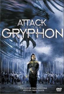 Ataque de Gryphon Numa terra mística dividida pela guerra civil, uma princesa guerreira precisa se unir a um príncipe guerreiro rival para lutar contra um feiticeiro do mal que convocou um gigantesco demônio voador que está aterrorizando sua terra.