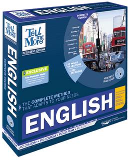 Tell Me More - Curso de Inglês Completo Considerado o maior curso de Inglês de todos os tempos, vale a pena dar uma conferida! (até no tamanho é o maior)
