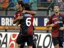Cagliari 2-2 Roma