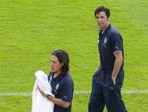 Mauro Camoranesi & Gianluigi Buffon