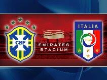 Italy v Brazil in London