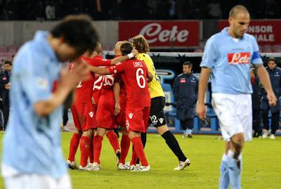 Napoli 2-2 Cagliari