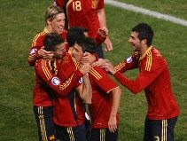 Spain 2-0 South Africa