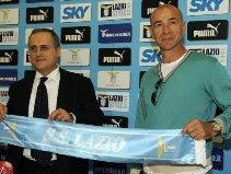 President Claudio Lotito & Davide Ballardini