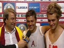 President Spinelli with Tavano & Diamanti