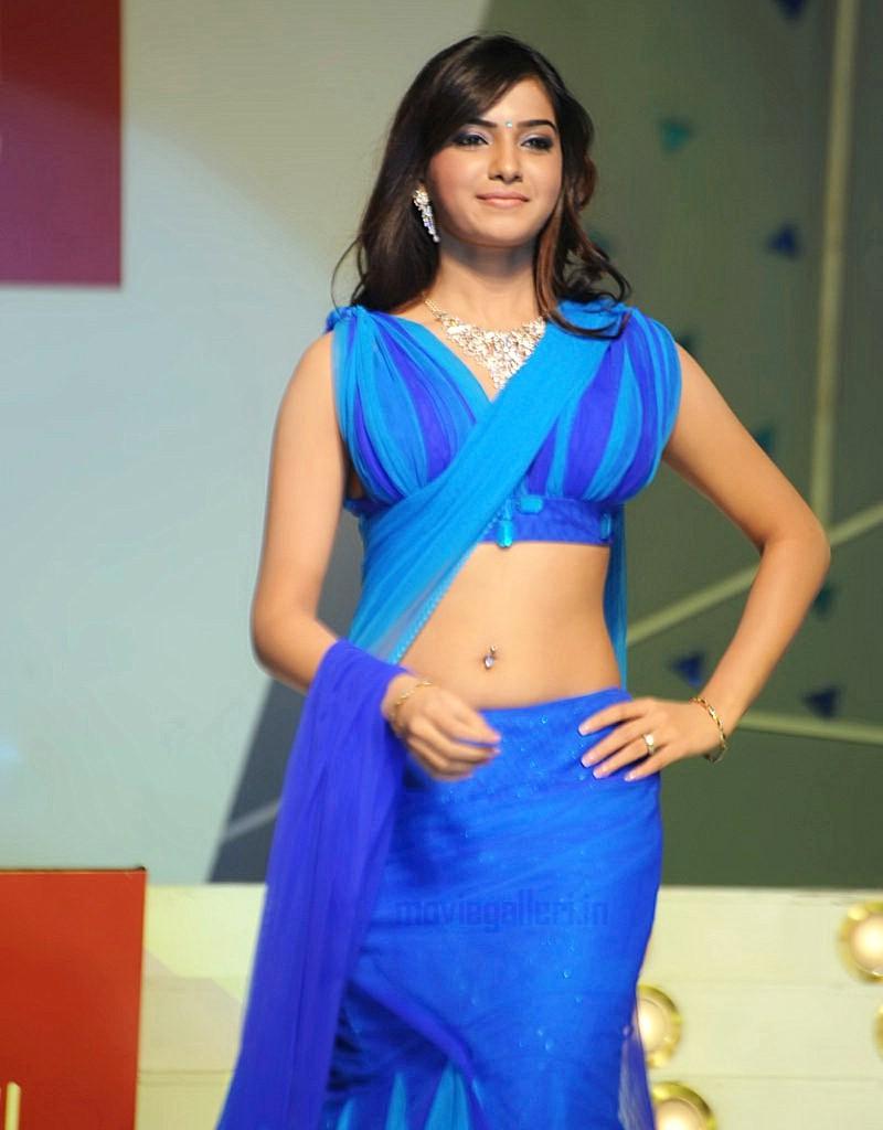 Samantha Walks Ramp Vaishnavi Jewellers Fashion Show Stills For Telugu Actress