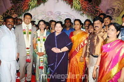 saidai s duraisamy son wedding reception
