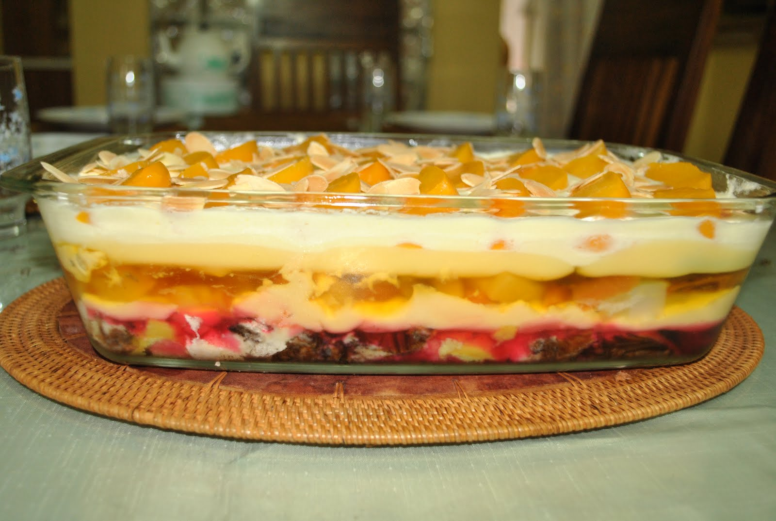 Resepi Trifle Pudding