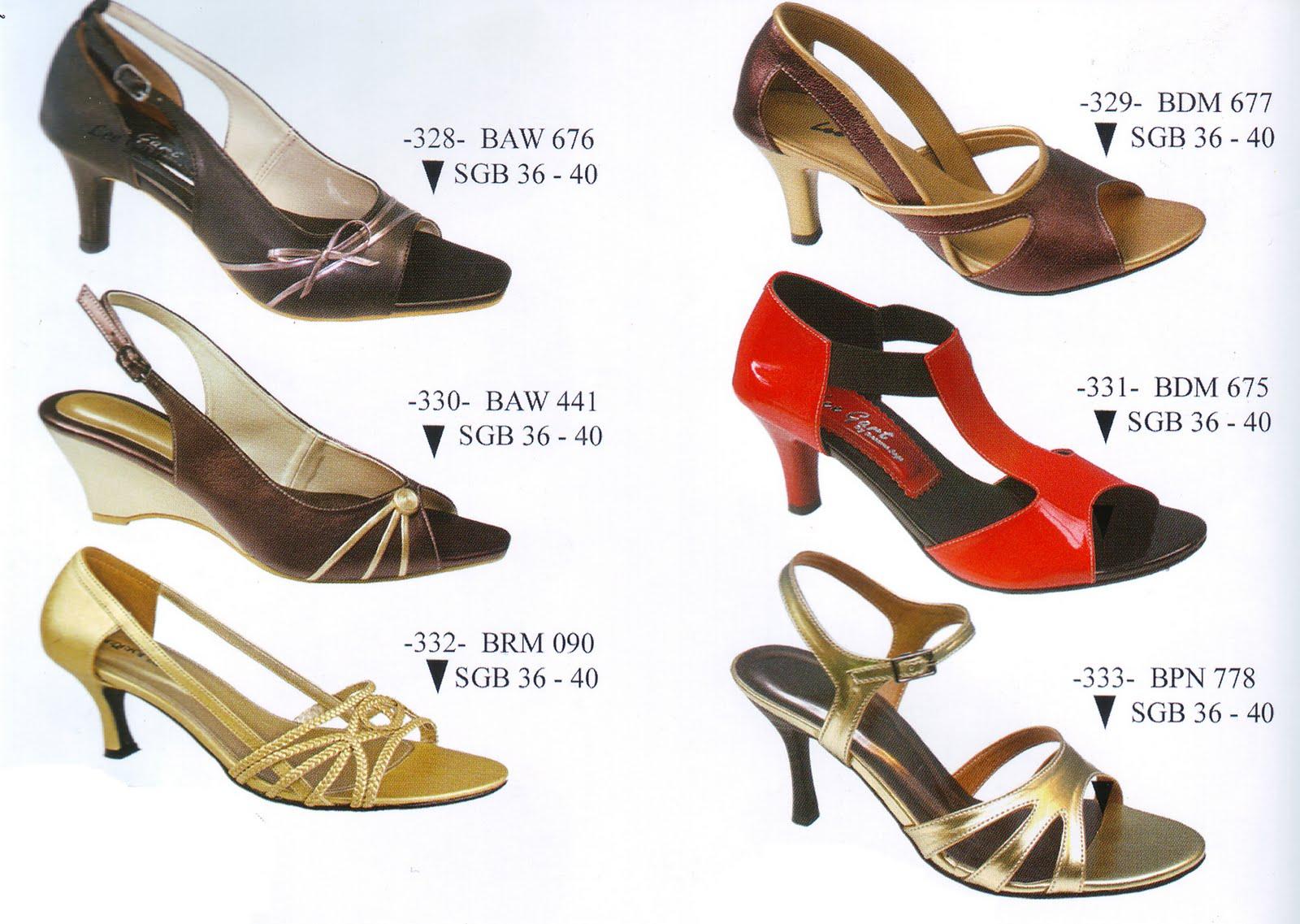 Sepatu Wanita ( Basama Soga )