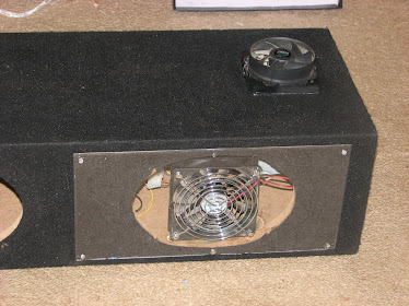Plexi and mount fan