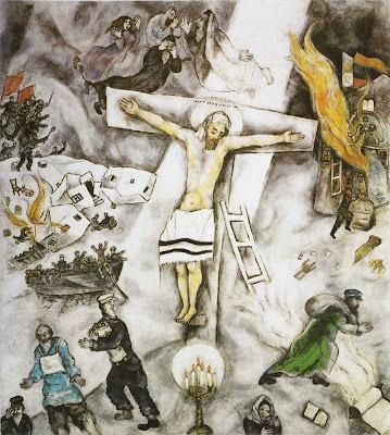 hyperceptions: Marc Chagall Chagall Crucifixion