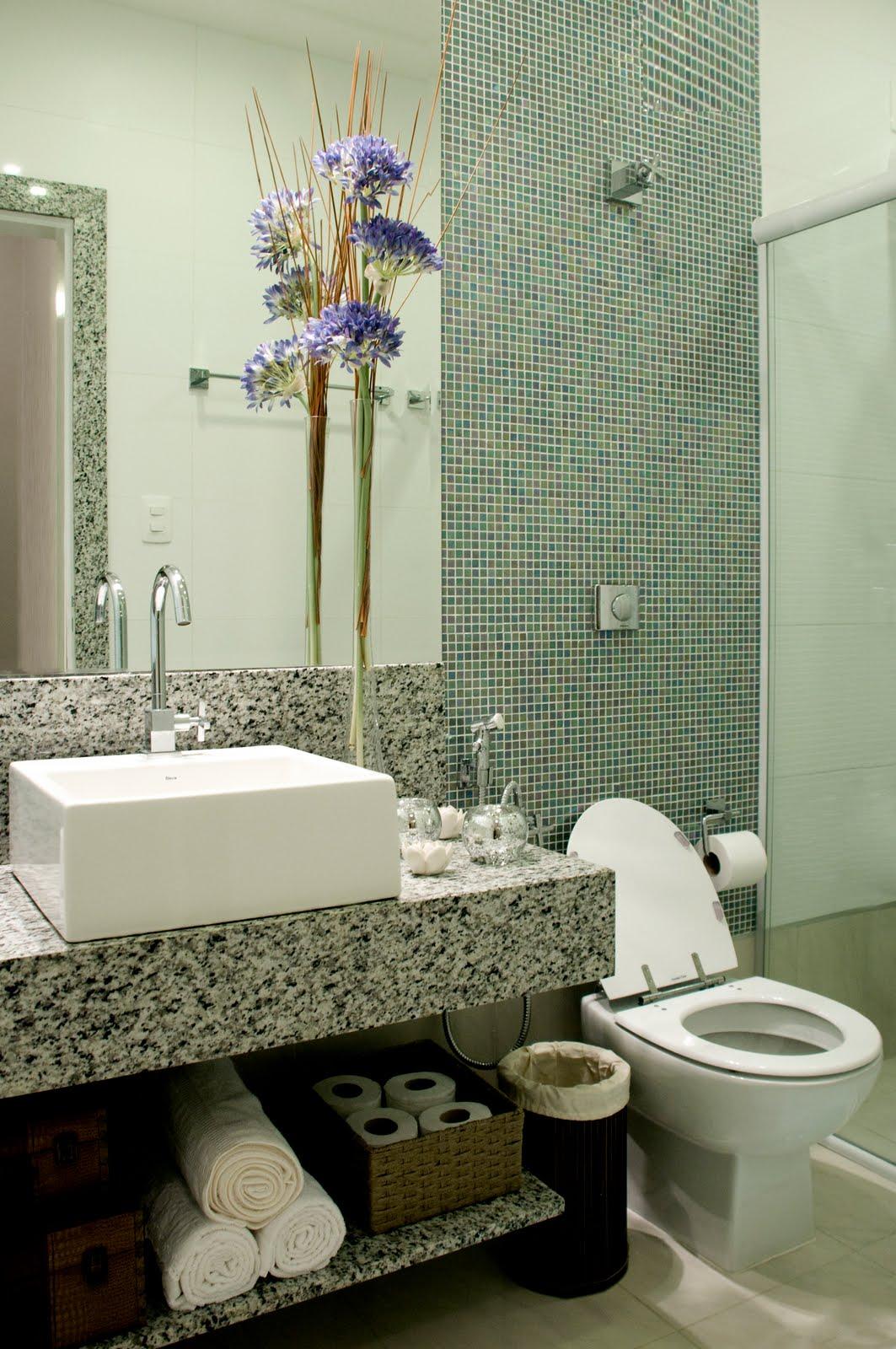 #5C4E2D Bancada em granito cuba Deca e 1063x1600 px Banheiros Decorados Com Porcelanato Portinari 1099