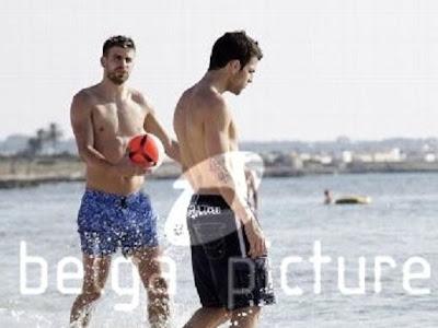 Cesc y Piqué alquilaron un barco en Ibiza
